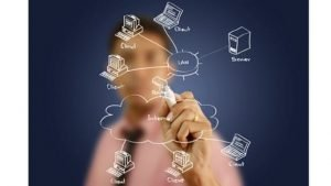 small business it consulting drawing client network