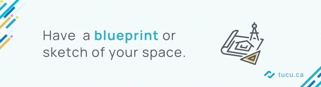 have a blueprint of your office