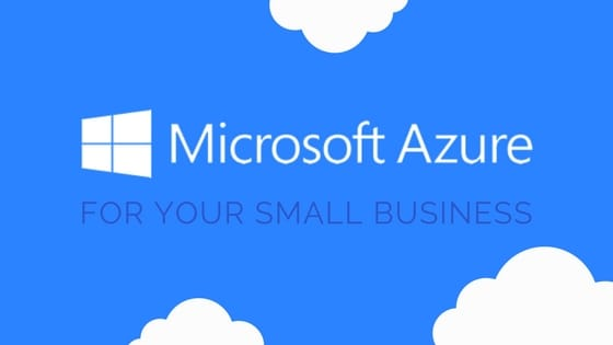 microsoft azure logo and cloud icons