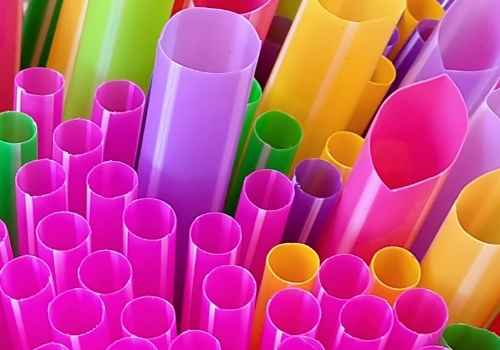 internet pipe size concept depicted by straws of various width