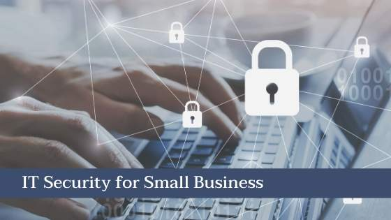 it security for small business concept