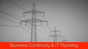 power line failure and it planning