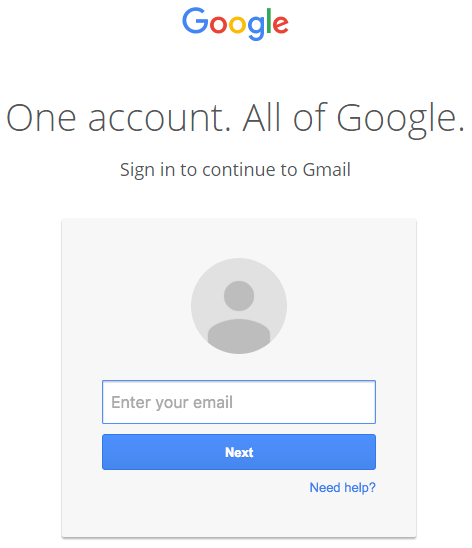 Gmail Phishing Fake Login Page