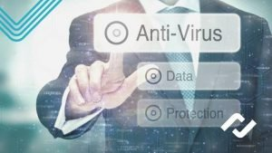 concept showing limitations of antivirus as only one layer of overall IT security