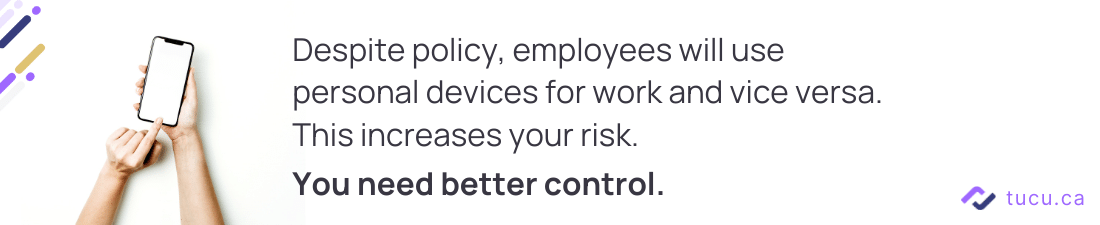 employees personal devices in the workplace tip 1
