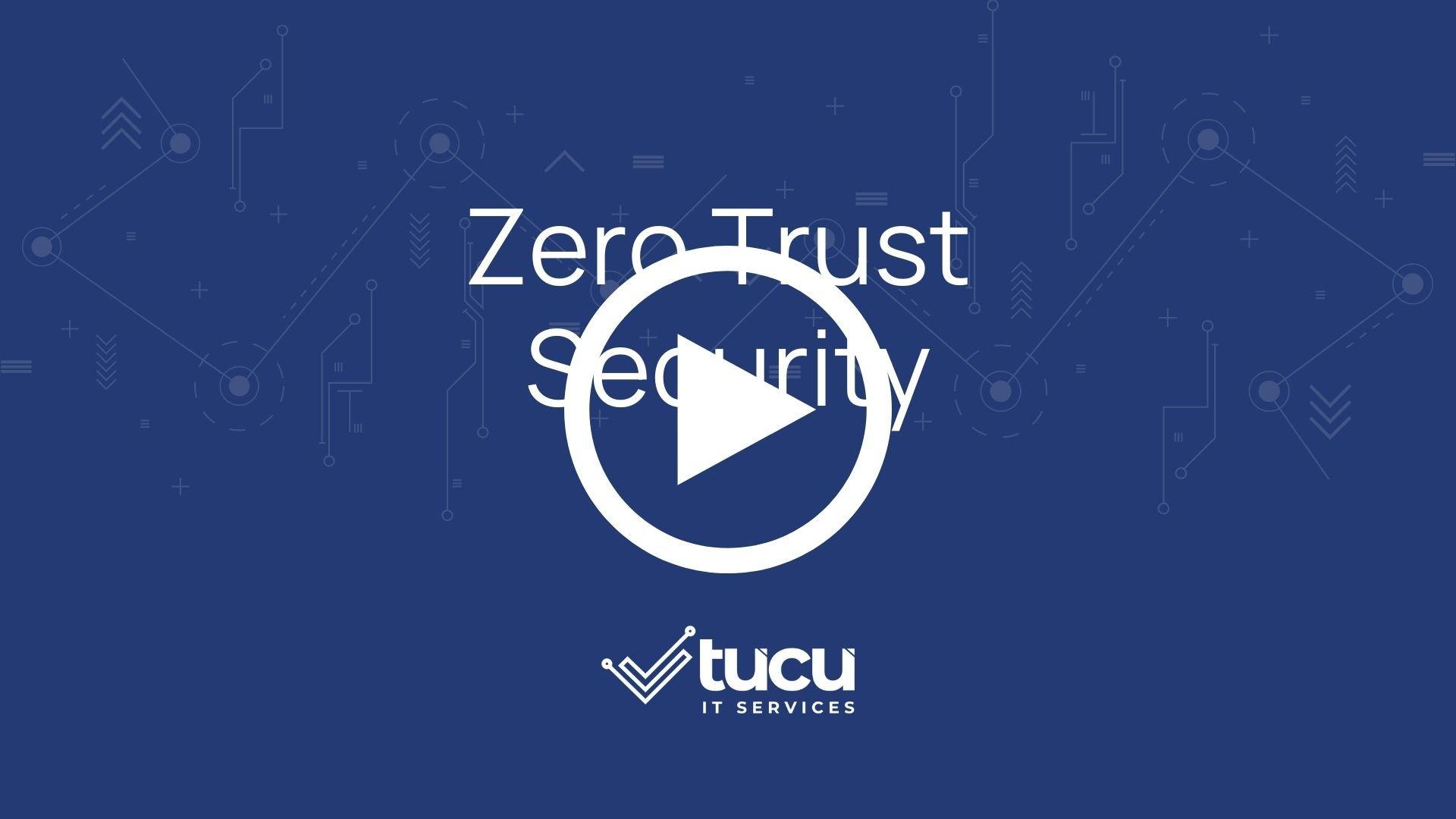 Zero Trust Security Explainer Video Cover